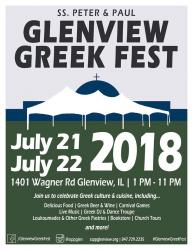 Glenview Greek Fest at Saints Peter & Paul Greek Orthodox Church