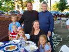 Church leaders and guests - Big Greek Food Fest, Niles
