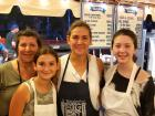 Hard working volunteers - Big Greek Food Fest, Niles