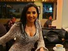 Singer Evgenia at Brousko Authentic Greek Cuisine - Schaumburg