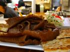 Gyros Plate at Brousko Authentic Greek Cuisine - Schaumburg