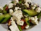 Refreshing Salad at Brousko Authentic Greek Cuisine - Schaumburg