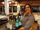 Friendly server at Brousko Authentic Greek Cuisine - Schaumburg