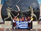 Neolea Hellenic Dancers - Chicago White Sox Greek Heritage Night