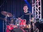 Drummer performing - Melina Aslanidou concert at Concorde Banquets, Kildeer