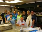 Hard working volunteers -  Glenview Greek Fest at Sts. Peter & Paul