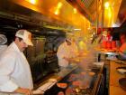 Hard working kitchen crew at Jameson's Charhouse - Valentine's Day