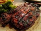 Prime New York Steak served at Jameson's Charhouse - Valentine's Day