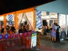 Outdoor tent at Johnny's Kitchen & Tap Octoberfest in Glenview