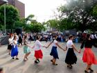 Dancers performing, Lincoln Park Greek Fest Chicago