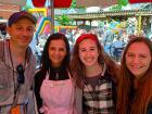 Hard working volunteers - Lincoln Park Greek Fest, Chicago