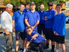 Hard working valet volunteers - Lincoln Park Greek Fest, Chicago