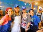 Hard working volunteers, Lincoln Park Greek Fest, Chicago