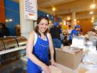 Hard working volunteer, Lincoln Park Greek Fest, Chicago