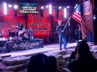 Bella Cain honoring veterans and the military - Niko's Red Mill Tavern in Woodstock