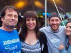Happy participants - Oak Lawn Greek Fest at St. Nicholas