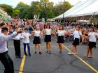 Youth dancers performing - Palos Hills Greek Fest