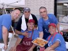 Hard working volunteers - Taste of Greece at St. Demetrios, Elmhurst