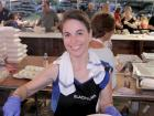 Hard working volunteer - Taste of Greece at St. Demetrios, Elmhurst