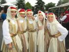 Friendly dance performers - St. Demetrios Greekfest (Elmhurst)