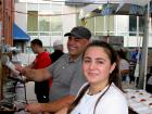 Hard working volunteers - St. Demetrios Lincoln Square Greekfest, Chicago