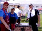 Hard working volunteers - Taste of Greece at St. Demetrios, Elmhurst