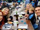 Happy participants - St. Nectarios Greekfest, Palatine