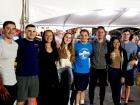 Happy participants and volunteers - St. Nectarios Greekfest, Palatine