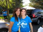 Hard working drive-thru volunteers, - St. Nectarios Greekfest, Palatine