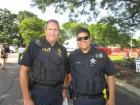 Elgin police officers - St. Sophia Greekfest, Elgin