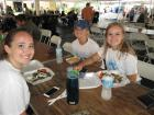 Happy participants - St. Sophia Greekfest, Elgin