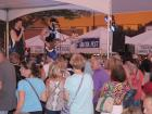The band SEMPLE rocking the crowd -  St. Sophia Greekfest, Elgin