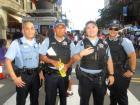 Chicago officers safeguarding Taste of Greektown in Chicago