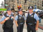 Police officers, Taste of Greektown in Chicago