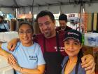 Hard working volunteers - Taste of Greek Town in Chicago