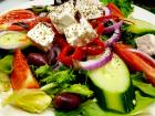 The famous Greek Salad at Annie's Pancake House in Skokie