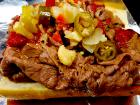 The famous Italian Beef at Billy Boy's Restaurant in Chicago Ridge