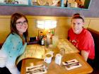 Happy customers at Butterfield's Pancake House Restaurant in Naperville