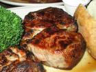 Char-broiled chops