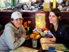 Friends enjoying lunch at Rose Garden Cafe in Elk Grove Village