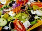 The Mediterranean Salad at Rose Garden Cafe in Elk Grove Village