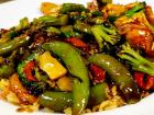The Steak Stir-Fry at Rose Garden Cafe in Elk Grove Village
