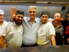 Staff with kitchen crew at Tasty Waffle Restaurant in Romeoville