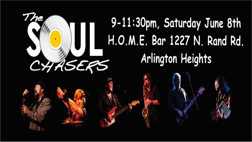 The Soul Chasers Live At Home Nightclub Arlington Heights Opa