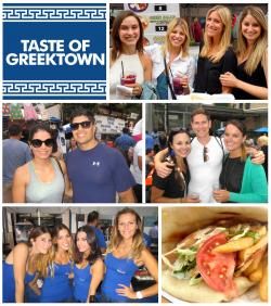 People, fun, and great food at Taste of Greektown in Chicago 2016 2017