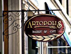 Logo for Artopolis Bakery Cafe Agora