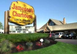 Outside photo of Jameson's Charhouse restaurant in Arlington Heights, IL