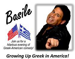 Basile The Comic at St. Demetrios Greek Church - Chicago