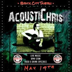 AcoustiChris Live at Brick City Tavern in Mount Prospect