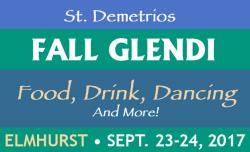St. Demetrios Taste of Greece Fall Glendi - Elmhurst